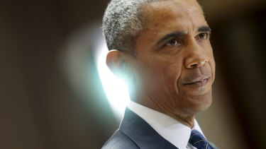 President Barack Obama's US target implies a 41 per cent cut on 2015 levels by 2030, compared with 26-28 per cent for Australia.
