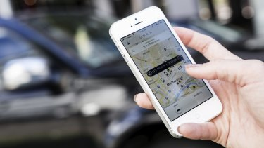 """Ride sharing service Uber is """"pleased to partner"""" with the VRC to help transport racegoers."""