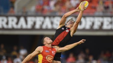 """As a teenager Joe Daniher used to think football was """"the be all and end all of living""""."""