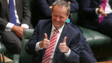 Opposition Leader Bill Shorten's all-singing-all-shuffling show stopped at several low-lying islands at risk from climate change.
