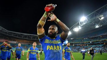 Never say never: Eels CEO Bernie Gurr says Semi Radradra won't be returning to the Eels in the near future, but that doersn't mean it will never happen.