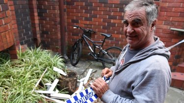 Bondi Junction resident Sam Joseph witnessed residents fleeing after an explosion rocked the building next door.