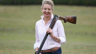 All guns blazing: Nationals Senator Bridget McKenzie.