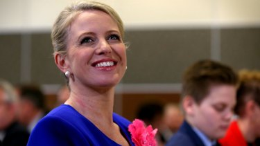 Chloe Shorten has been travelling with her husband.