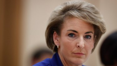 """Earlier in the day, Employment Minister Michaelia Cash said: """"I can assure you that I found out about the raids as they unfolded on the television."""""""