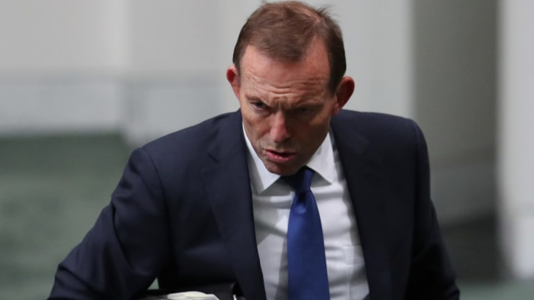 Former prime minister Tony Abbott has Malcolm Turnbull in a difficult position.
