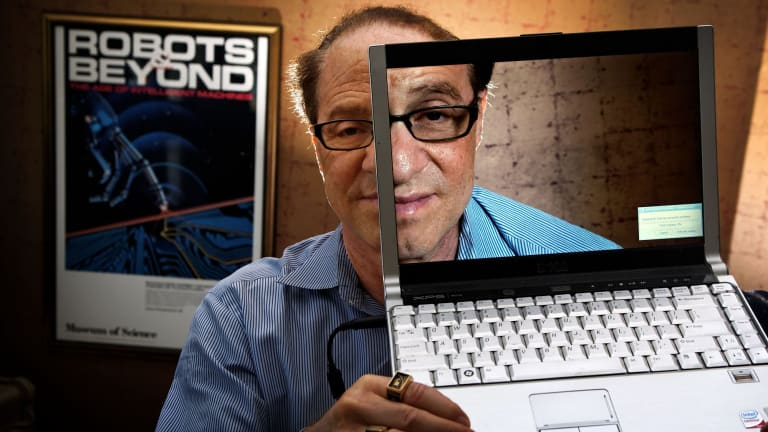 Futurist Ray Kurzweil warns of the singularity – the point at which artificial intelligence starts teaching itself.