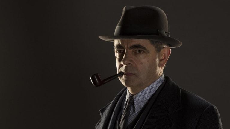 Rowan Atkinson in <I>Maigret</i>.