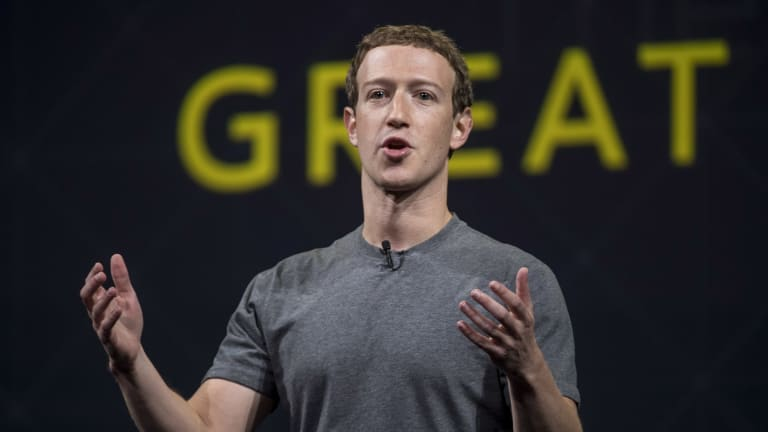 Mark Zuckerberg says it's unlikely fake news posts on Facebook influenced the US election.