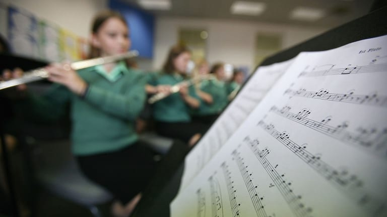 Music has been found to help children identify statistiacal patterns in sound and visual cues.