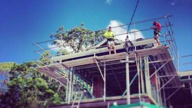 Plummeting construction activity has led to Queensland being named one of Australia's worst-performing economies.