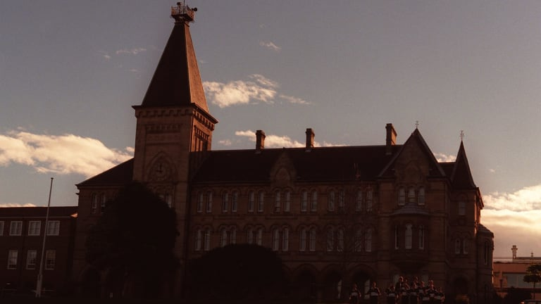 Newington College charges more than $60,000 for students to stay on campus.