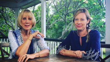 """""""Both of us refused to be defined as the girlfriends, and that's what they did, when they dumped us,"""" says Lindy Morrison (left) pictured with Amanda Brown."""