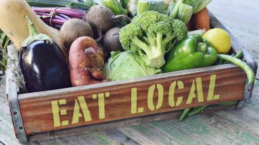 Eat local: fresh and affordable.