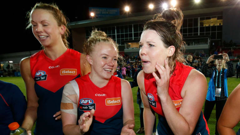 A successful North Melbourne-Tasmania bid would see AFLW teams play in the Apple Isle in 2019.
