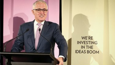 Spending to promote the Turnbull government's National Innovation and Science Agenda cost $14.9 million.