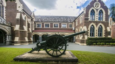 Brisbane Grammar School, where the abuse took place.