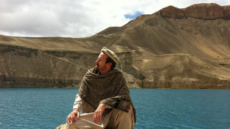 Australian filmmaker Benjamin Gilmour on a scouting visit to Afghanistan for his new film <i>Return To Kandahar</i>.