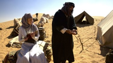 Kidman's Gertrude Bell is determined to blaze her own trail in <i>Queen of the Desert</i>.