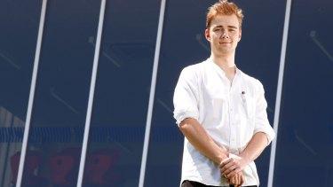 Tintern Grammar IB student Rory Shepherd hopes to study at Cambridge.
