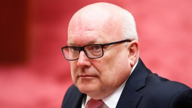 The government has committed to funding the information commissioner's office adequately, but George Brandis keeps failing to do it.