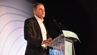 Foxtel chief executive Peter Tonagh.