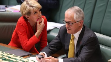 Why can Malcolm Turnbull identify as a feminist so easily, when Julie Bishop struggles with the label?