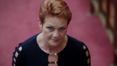"Muslims want to impose Sharia law because they ""hate Western society,"" Senator Pauline Hanson told the ABC."