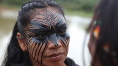 Awavena consists of two separate VR sequences beginning with a 17-minute journey into the Amazonian jungle.