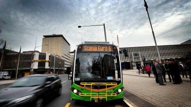 Canberra's bus network spent millions on dead runs.