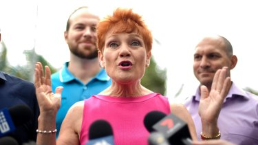 Angry voters are turning to One Nation: a surrogate means of expressing their frustration.
