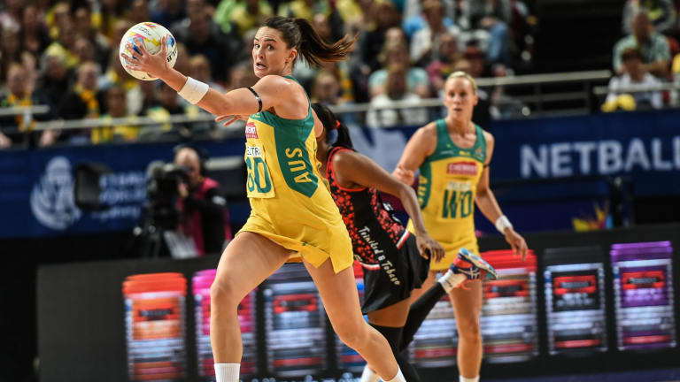 Diamonds star Sharni Layton is expected to give selectors a Comm Games headache.