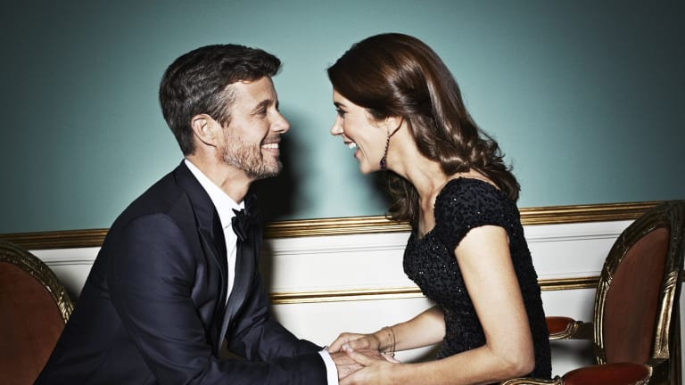 Crown Prince Frederik and Princess Mary of Denmark: the Danish prince famously met Mary, a Tasmanian, at an Australian bar.