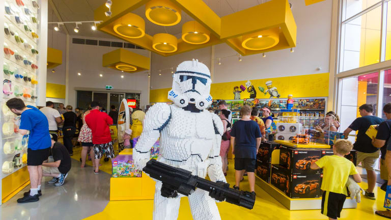 Big crowd builds for Australia-first Lego Store at Dreamworld