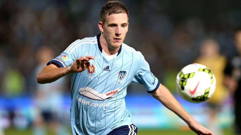 Big challenge: Sydney FC's Aaron Calver.