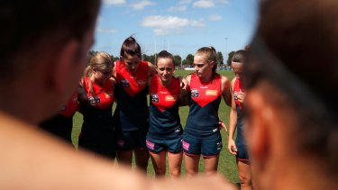 Daisy Pearce says there are expectations that come with being a marquee AFLW player.
