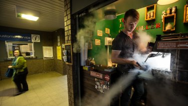 Adrian Clements was angered by Metro inspectors asking for discount coffee.