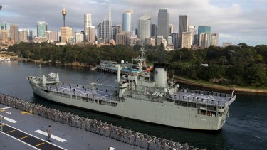 HMAS Tobruk will be sunk off the Fraser Coast