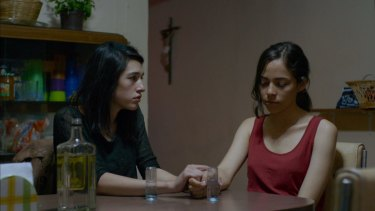 Masterful Mexican horror: Simone Bucio (left) and Ruth Ramos in The Untamed.
