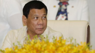 Philippine President Rodrigo Duterte is in favour of contraception and same-sex marriage.
