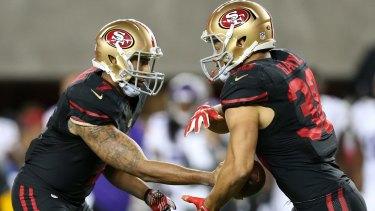d8efab664 Jarryd Hayne NFL transition amazing  San Francisco quarterback Colin ...