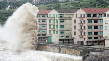 Typhoon Chan-hom triggered the evacuation of almost 1 million people from eastern China's Zhejiang province in 2015.