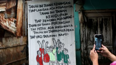 Residents of Bukit Duri, on the banks of the Ciliwung river are fighting to be able to stay.