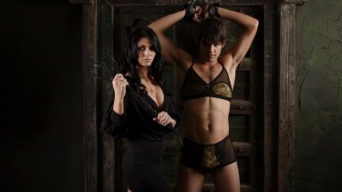 Panties, G-strings, bras and camisoles are part of the men's lingerie range.