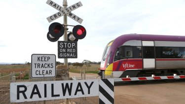 Trains on the Warrnambool line have been suspended due to boom gate failures.