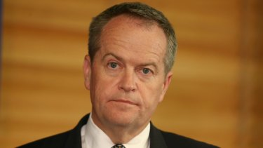 Bill Shorten announced Labor would seek substantially tough cuts to emissions.