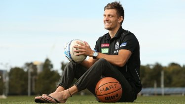 Adam Oxley, who has a multi-sport background, will be re-selected by Collingwood as a rookie.