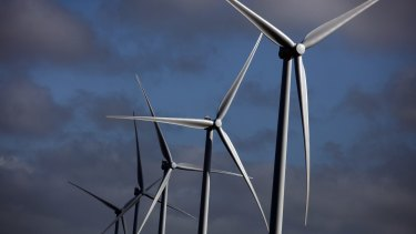 Lining up: Few operating wind farms in Australia attract complaints.