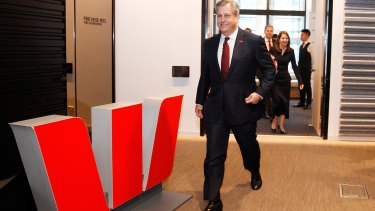 Brian Hartzer, chief executive officer of Westpac Banking Corp, announced a lift in bad debts.