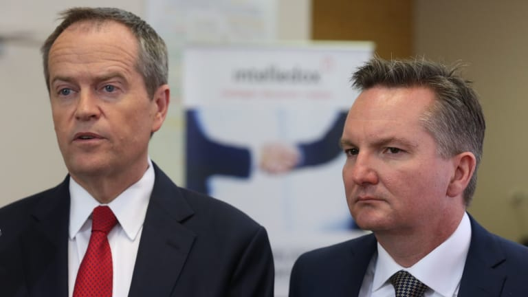 Opposition Leader Bill Shorten and the shadow treasurer Chris Bowen have taken the lead in the battle over the financial services scandals and will hold a royal commission into the sector if Labor wins the next election.